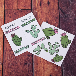 Cactus-Coupon-Raffle-2x2-Custom-Roll-Ticket