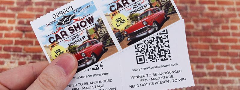 Car-Show-Custom-Roll-Ticket