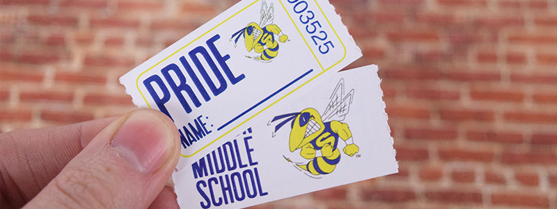 PRIDE-School-Custom-Roll-Ticket