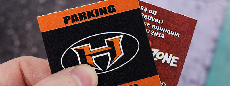 Sports-Parking-Custom-Roll-Ticket